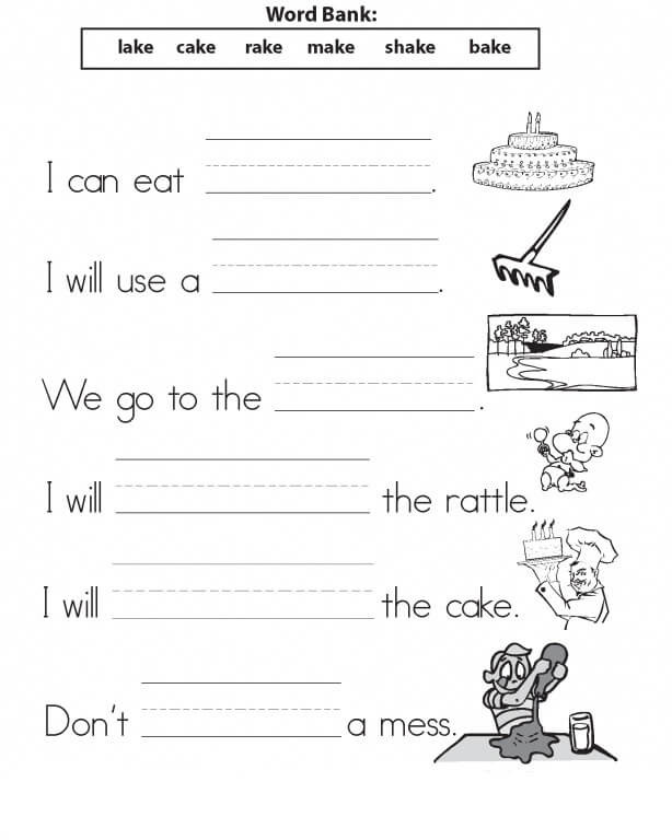 Worksheets for First Grade Writing 1st Grade Worksheets – Coloringcks