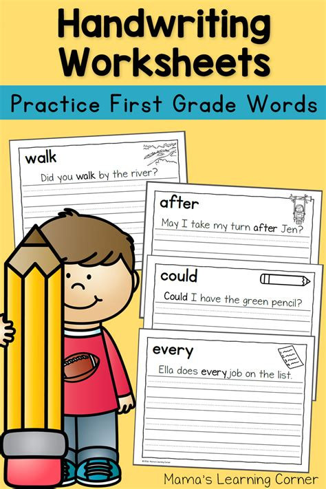 Writing Sheets for 1st Graders Best Update Writing Worksheet for 1st Grade Manual Line