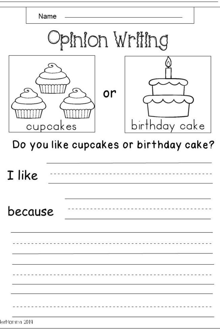 Writing Sheets for 1st Graders Free Kindergarten Writing Worksheets