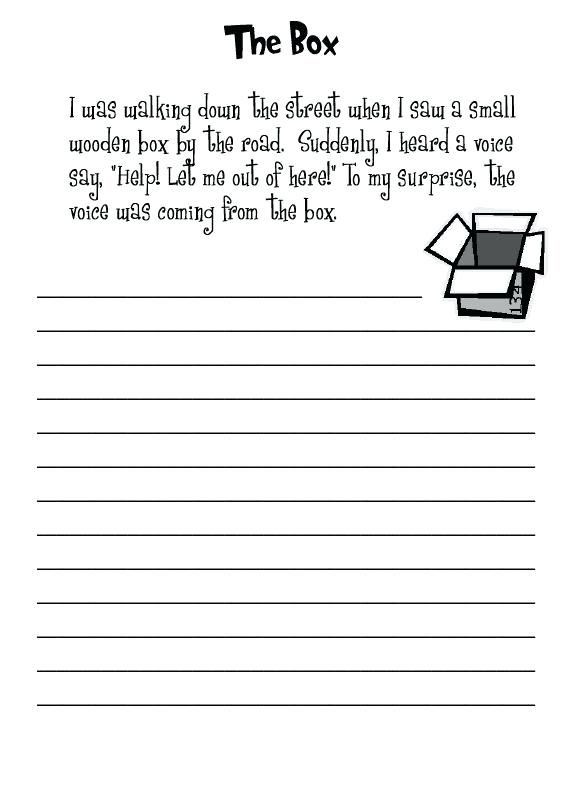 Writing Worksheet 2nd Grade 2nd Grade Writing Worksheets Elementary Prompts Fraction