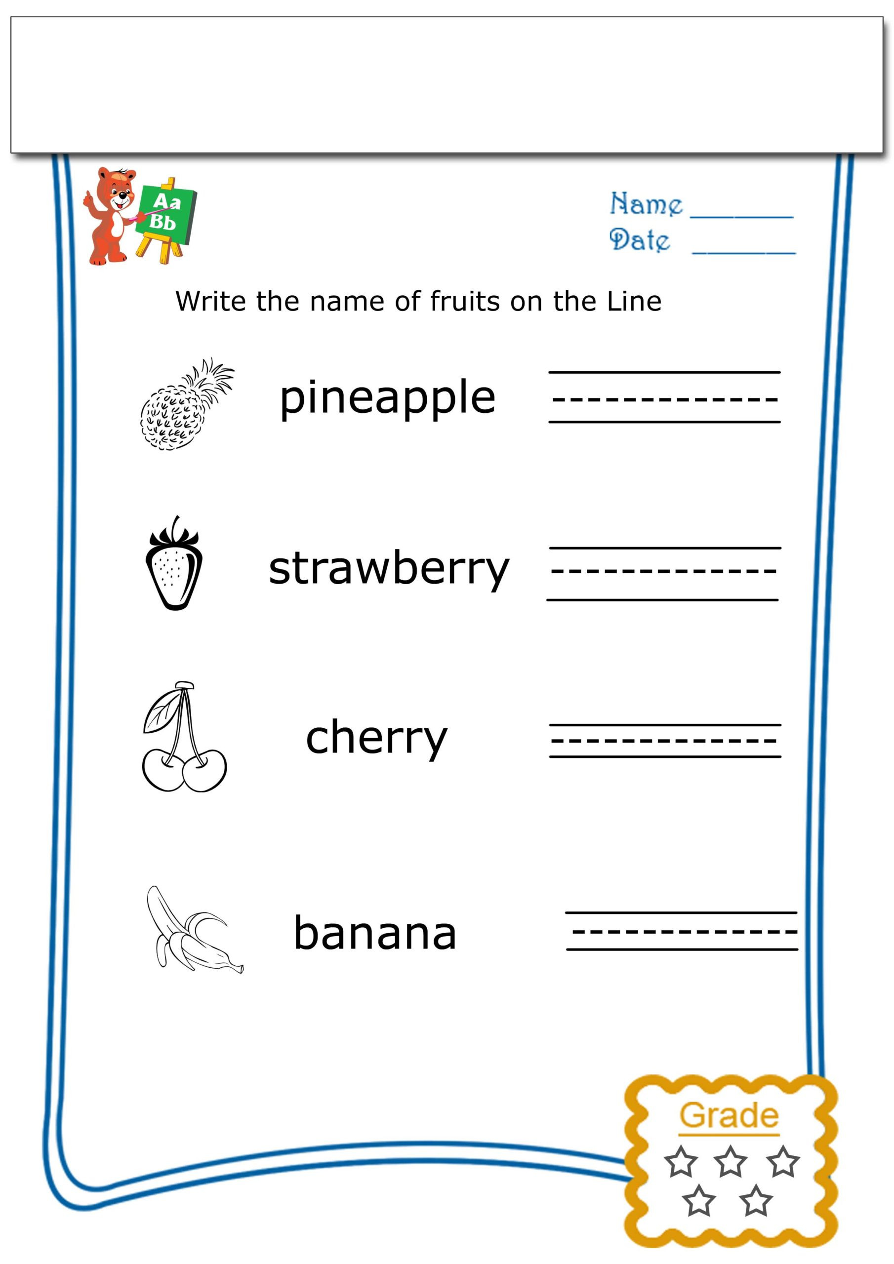 Writing Worksheets for 5th Grade 1st Grade 5th Grade Writing Worksheets Esl World Children