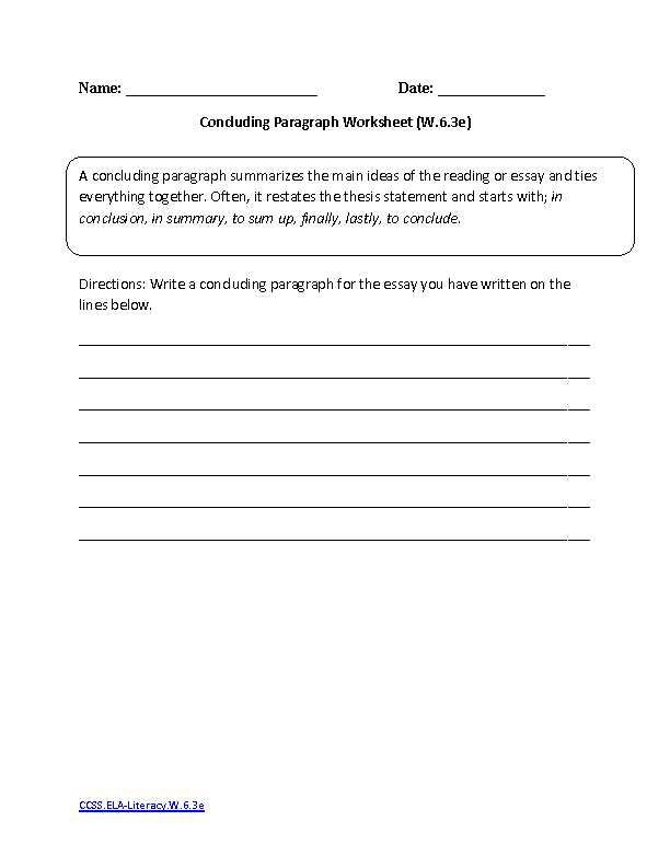 Writing Worksheets for 7th Grade 7th Grade Writing Worksheets In 2020 with Images