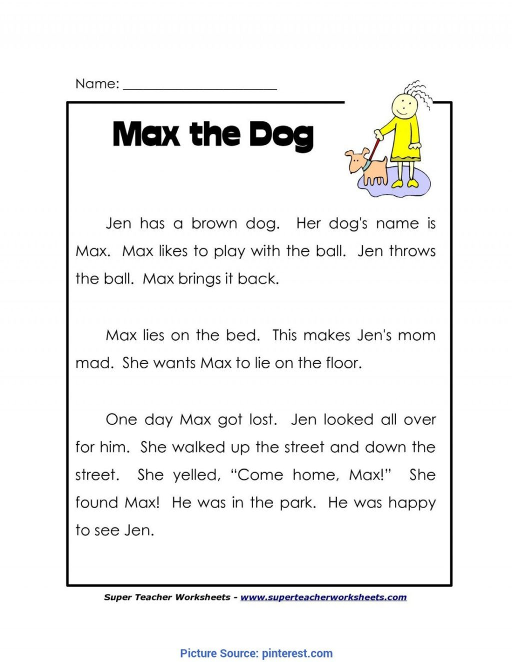1st Grade Reading Worksheets Worksheet Independent Reading Worksheets Printable and