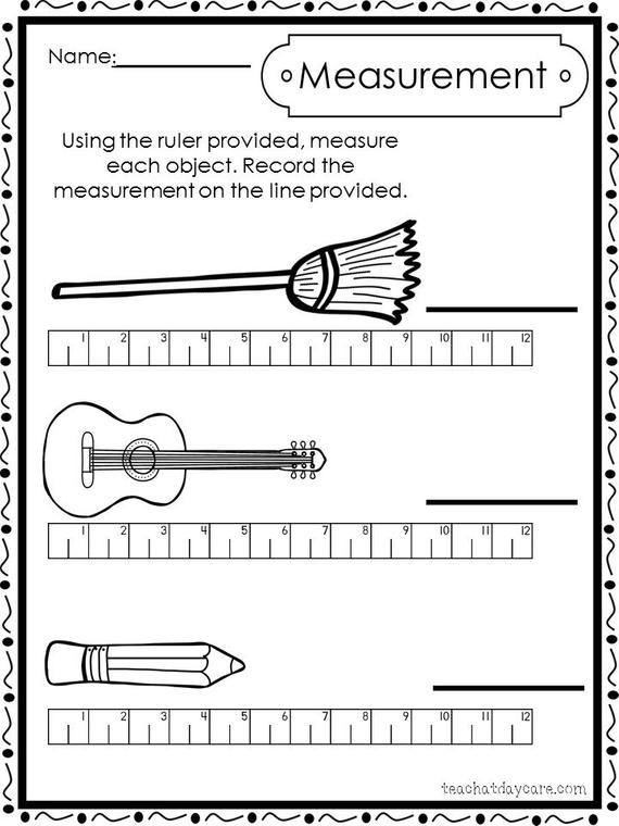 2nd Grade Measurement Worksheets 10 Printable Measuring with A Ruler Worksheets Preschool 1st Grade Math