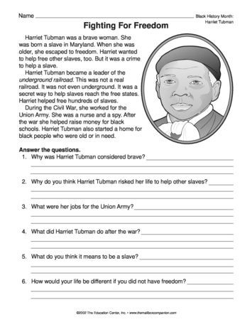 2nd Grade social Studies Worksheet Fighting for Freedom Lesson Plans the Mailbox