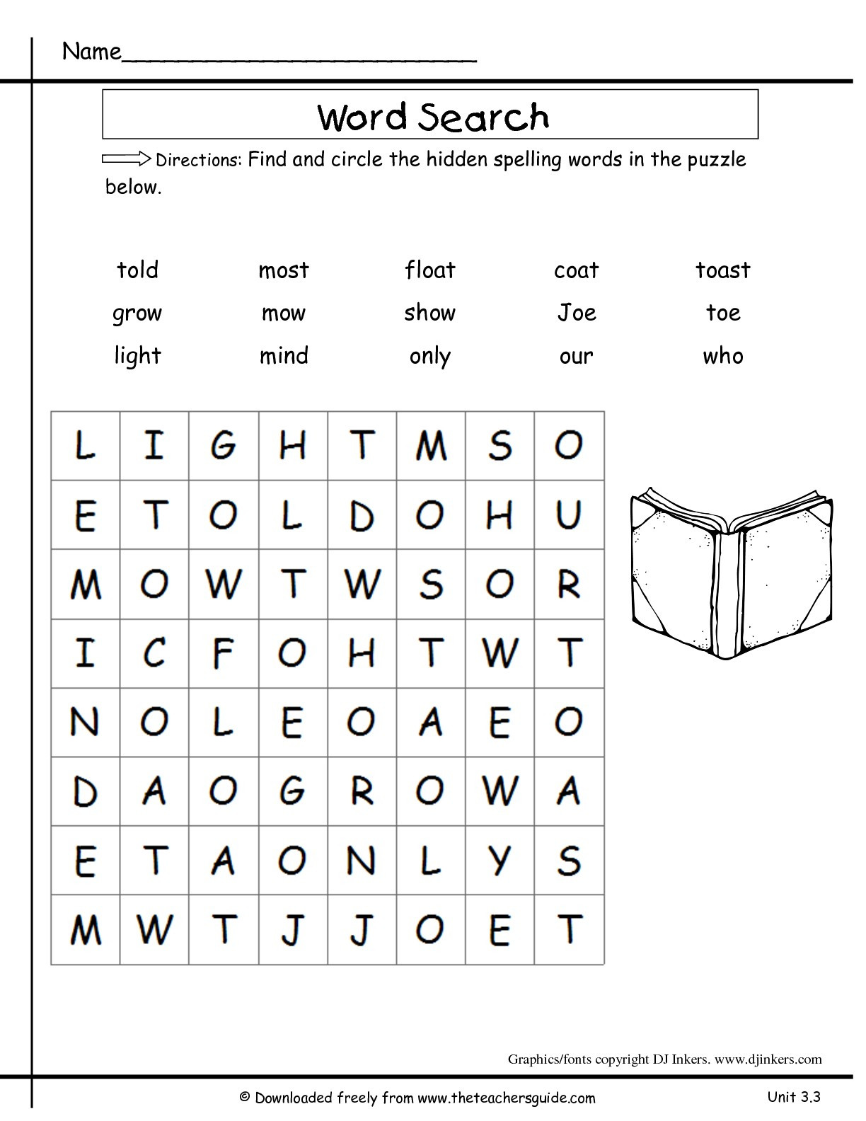 2nd Grade Spelling Worksheet Second Grade Spelling Worksheets Printable