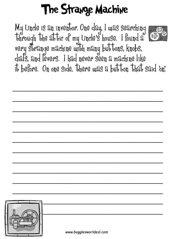 3rd Grade Essay Writing Worksheet Fun Creative Writing Prompts with Worksheets