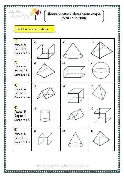 3rd Grade Geometry Worksheets 25 Trigonometry Questions Year 9