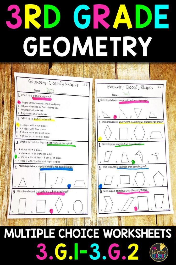 3rd Grade Geometry Worksheets Geometry Worksheets 3rd Grade Math Worksheets