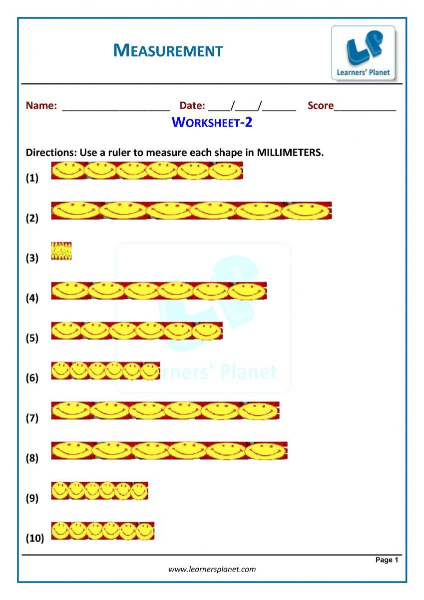 3rd Grade Measuring Worksheets 3rd Grade Measurement Worksheets