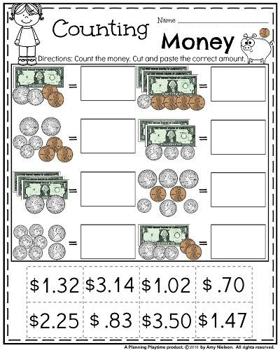 3rd Grade Money Worksheets Pin On Homeschooling