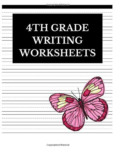 4th Grade Writing Worksheets 4th Grade Writing Worksheets Lined Journal Notebook to