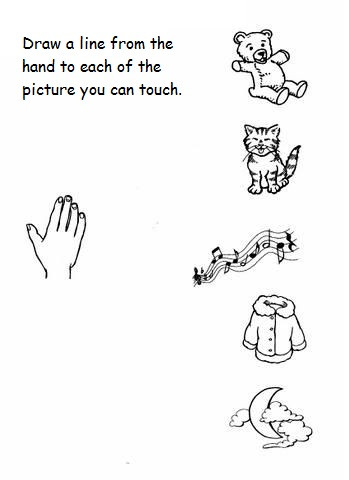 5 Senses Worksheet Preschool 5 Senses Worksheet for Kids 8