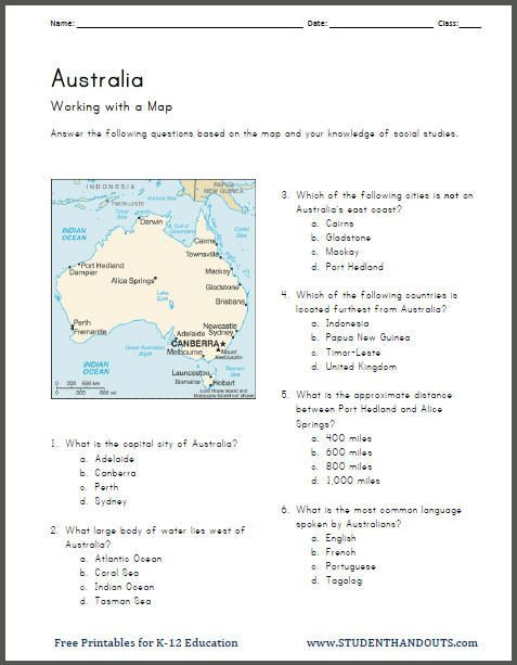 5th Grade Geography Worksheets History Worksheets 5th Grade Free Printable
