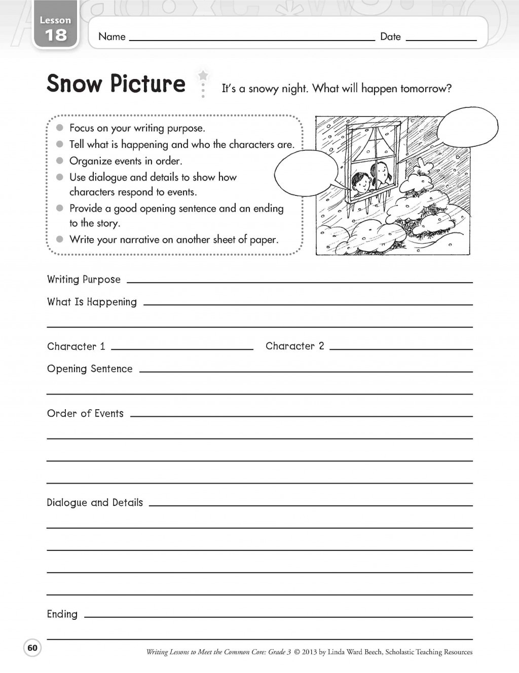 6th Grade Essay Writing Worksheets Narrative Writing Worksheet Grade 4