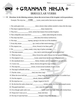 7th Grade Language Arts Worksheets Free Printable Noun Worksheets for 7th Grade