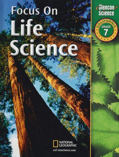 7th Grade Life Science Worksheets Amazon Focus On Life Science California Grade 7