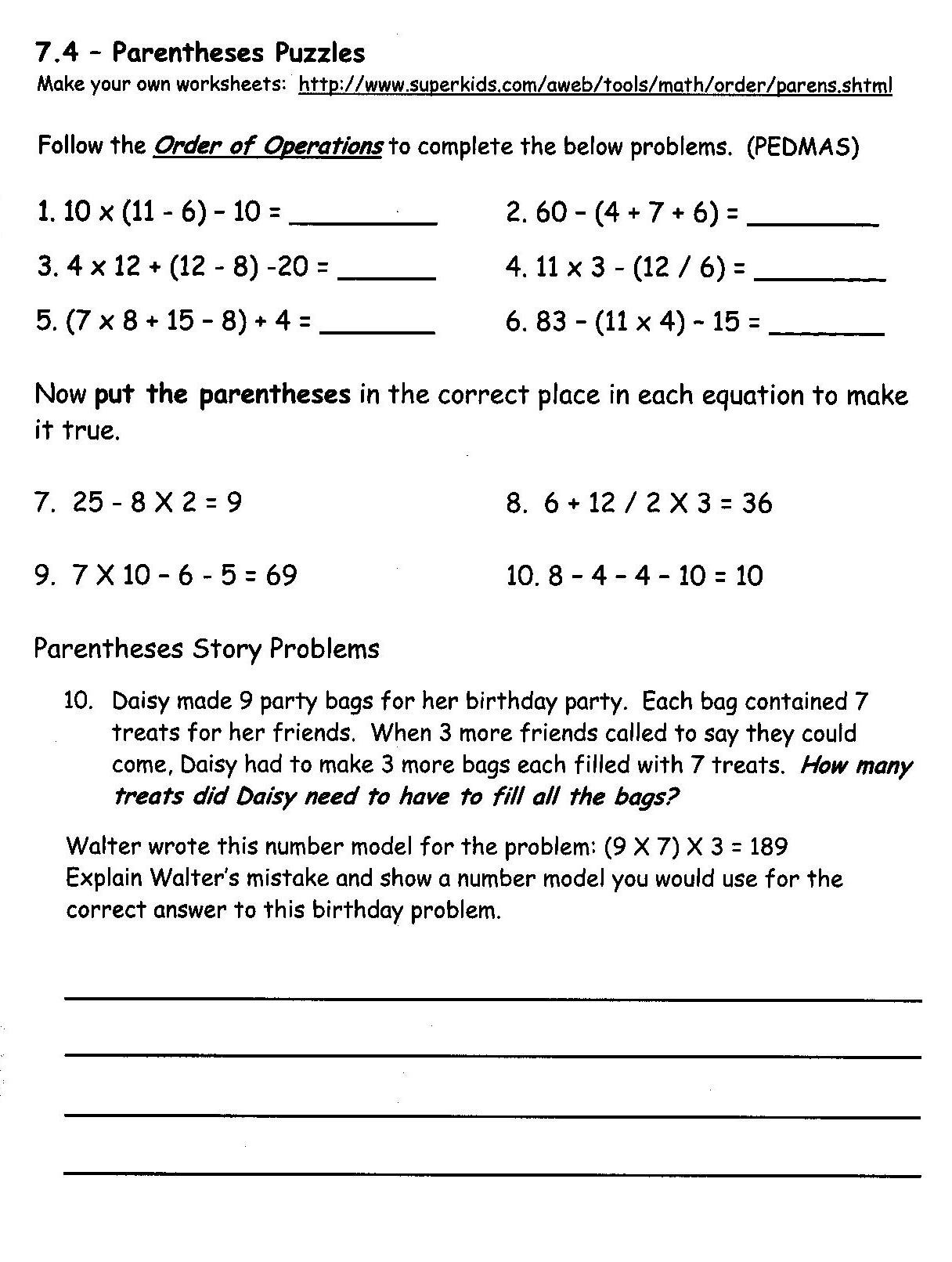 7th Grade Math Enrichment Worksheets Concord Grade 3 Math Enrichment Home Links