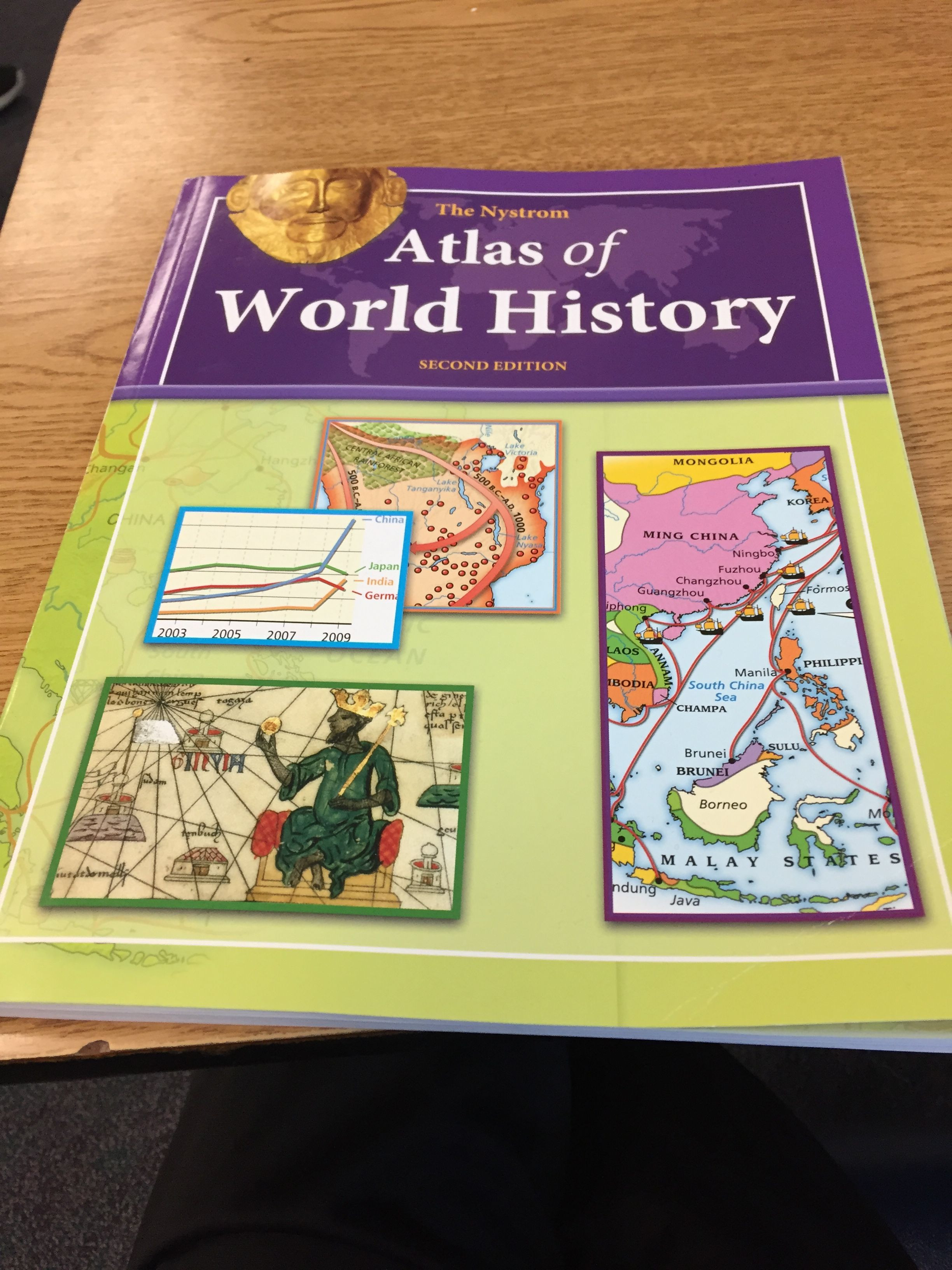 7th Grade World History Worksheets atlas Of World History Nystrom