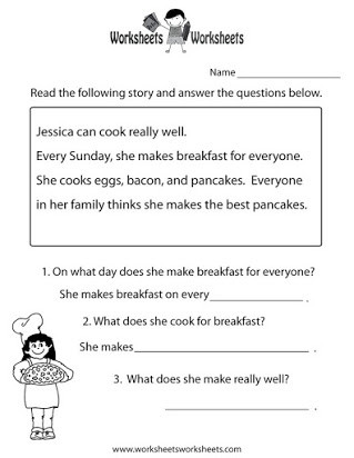 9th Grade Reading Worksheets Free Reading Worksheets for 9th Graders