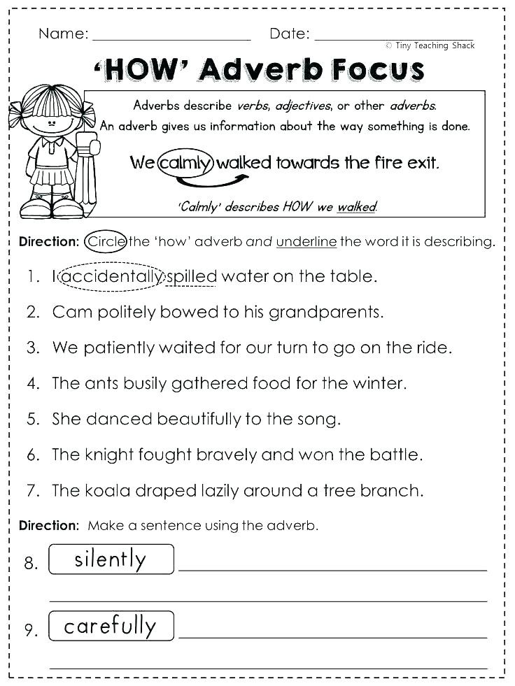 Adjectives Worksheets for Grade 1 Adjective Worksheets for Grade 5 – Dailycrazynews