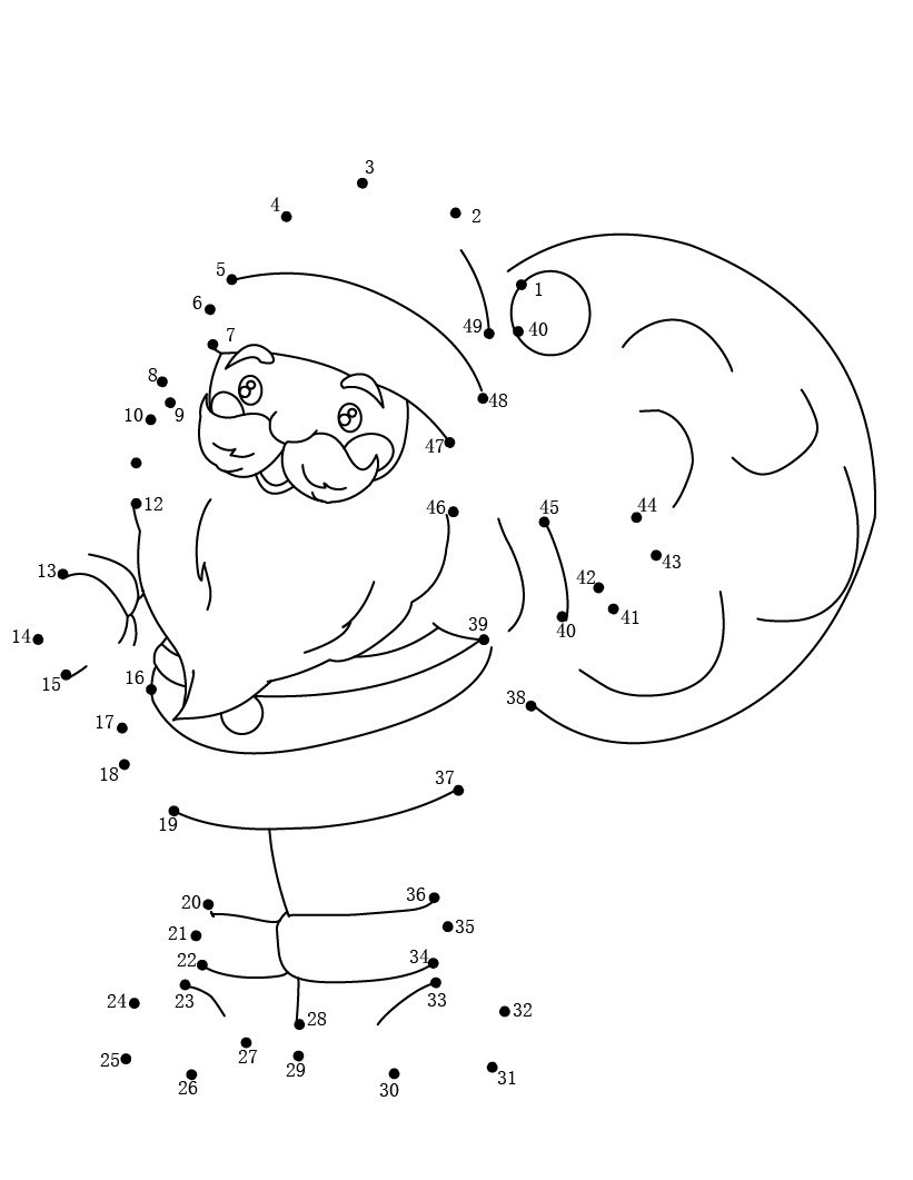 Christmas Dot to Dot Printables Dot to Dot Printables Best Coloring Pages for Kids