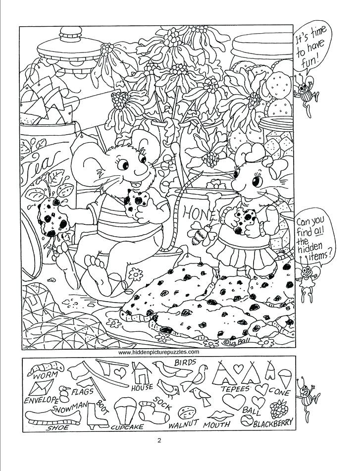 Christmas Hidden Picture Puzzles Printable 13 Spellbinding Hidden for Adults
