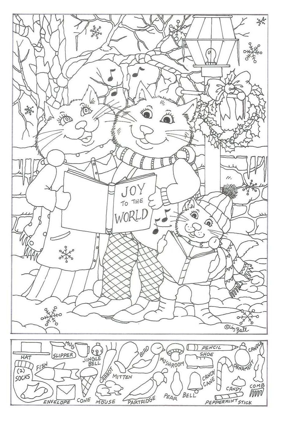 Christmas Hidden Picture Puzzles Printable Christmas Hidden Pictures