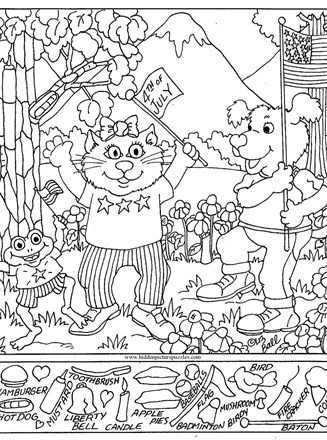 Christmas Hidden Picture Puzzles Printable Hidden Page Print Your Hidden 4th
