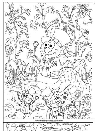 Christmas Hidden Picture Puzzles Printable Hidden Page Print Your Hidden
