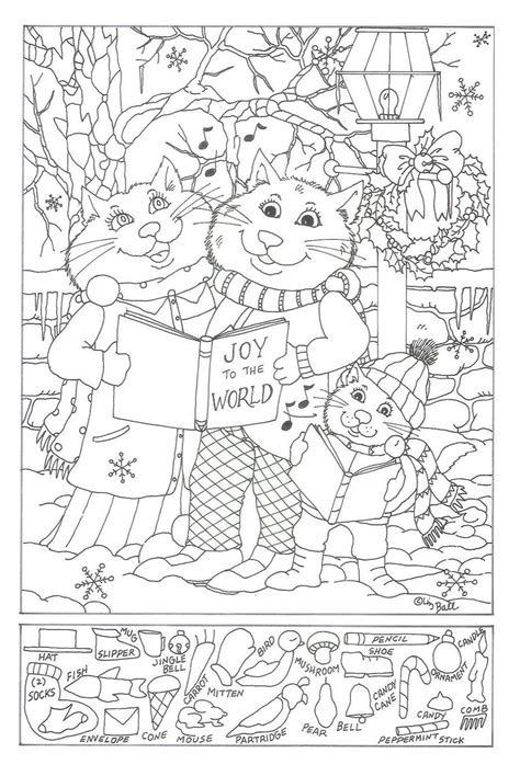 Christmas Hidden Pictures Printable Free Printable Hidden Object Puzzles