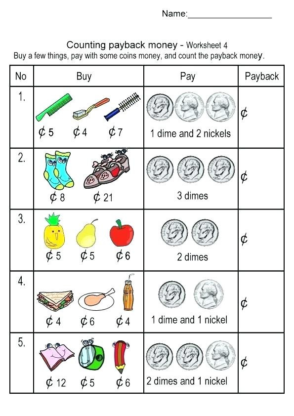 Coin Worksheets for 2nd Grade Money Worksheets for Grade 3 – Keepyourheadup