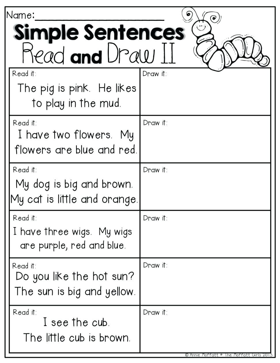 Comprehension Worksheets for First Grade Worksheet Short Reading Prehension Worksheets Fun Esl