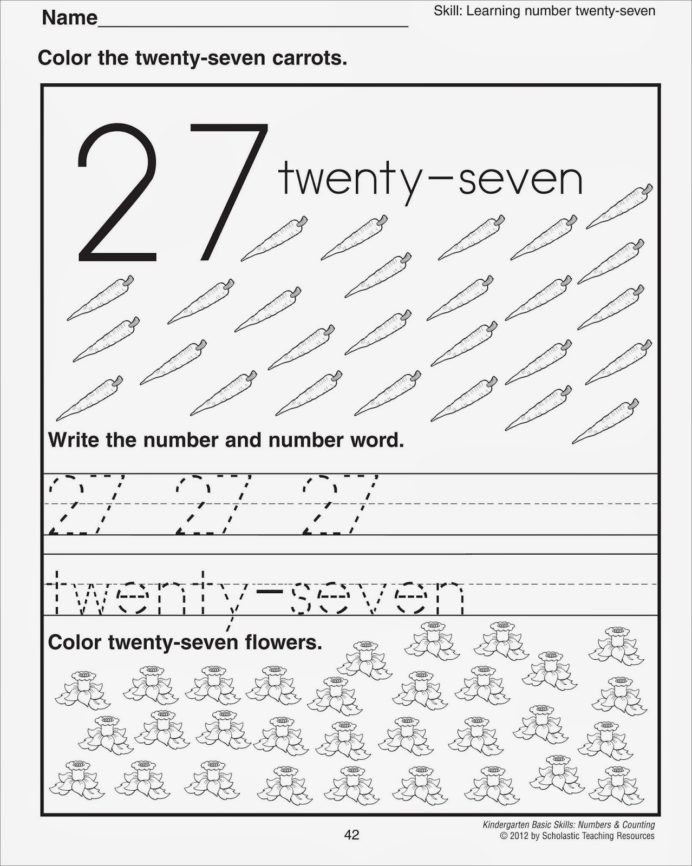 Counting Worksheets Preschool Number Worksheets Preschool Printable and
