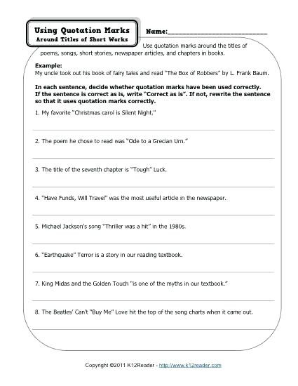 Dialogue Worksheets 4th Grade 4th Grade Dialogue Worksheets – Keepyourheadup