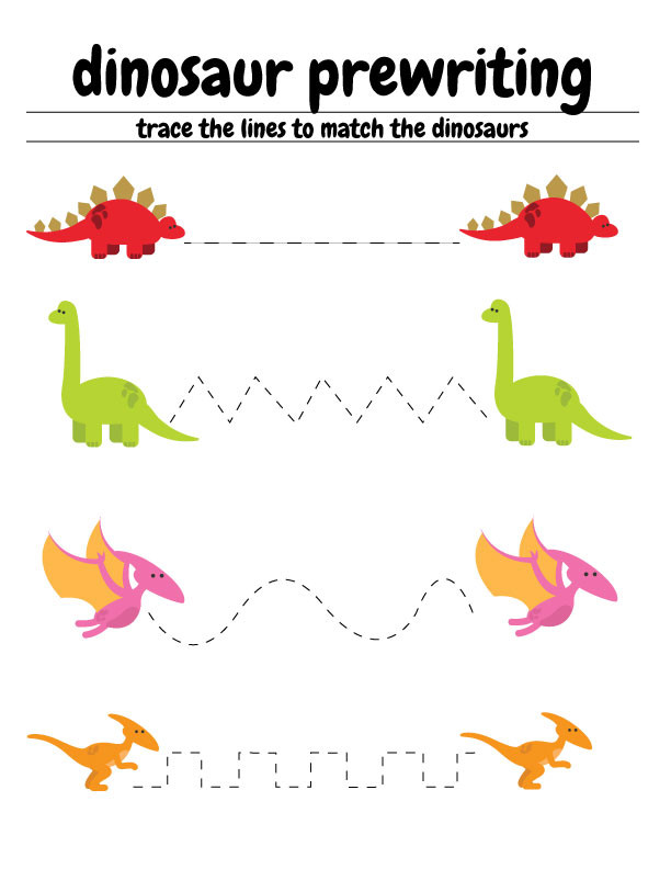 Dinosaur Worksheets for Preschoolers Free Dinosaur Preschool Worksheets – the B Keeps Us Honest