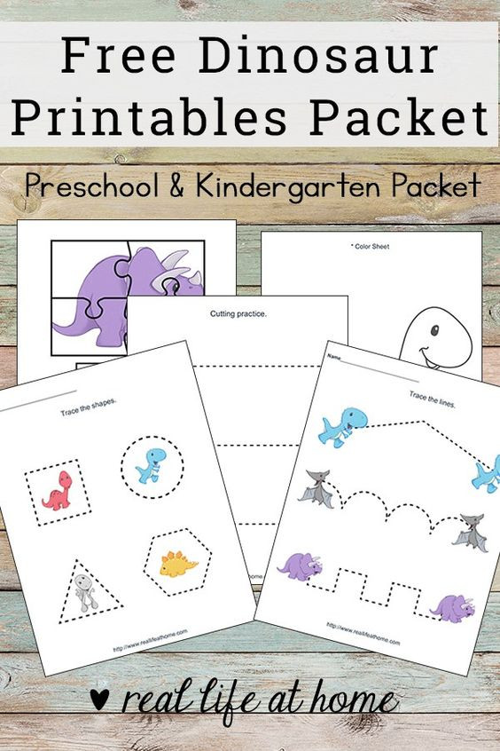 Dinosaur Worksheets for Preschoolers Free Printable Dinosaur Worksheets Packet for Preschoolers