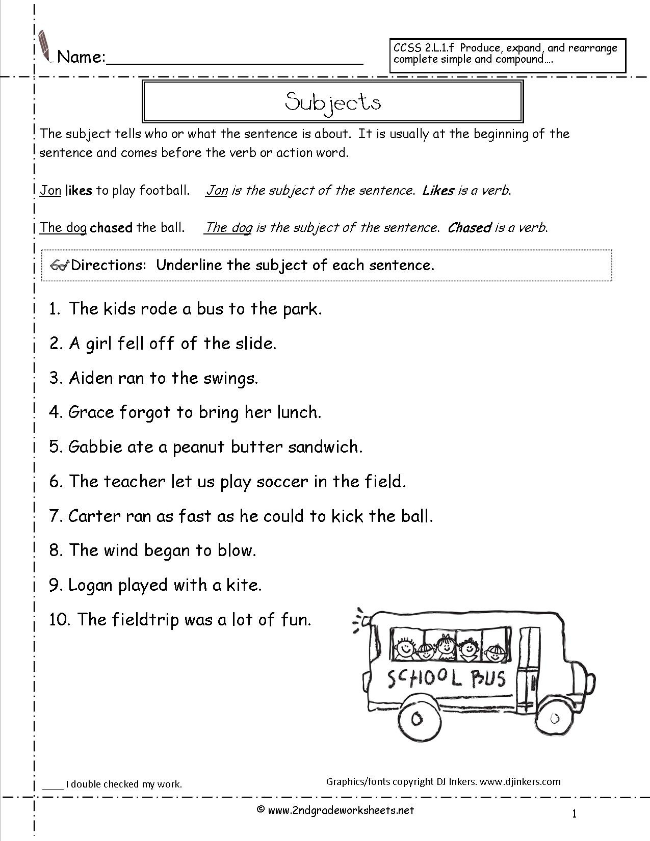Editing Worksheets 3rd Grade Stunning Sentence Correction Worksheets Gallery Kids