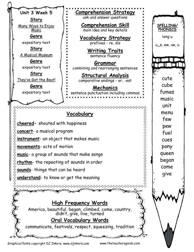 Er Est Worksheets 2nd Grade Math Worksheet 64 2nd Grade Prehension Skills Picture