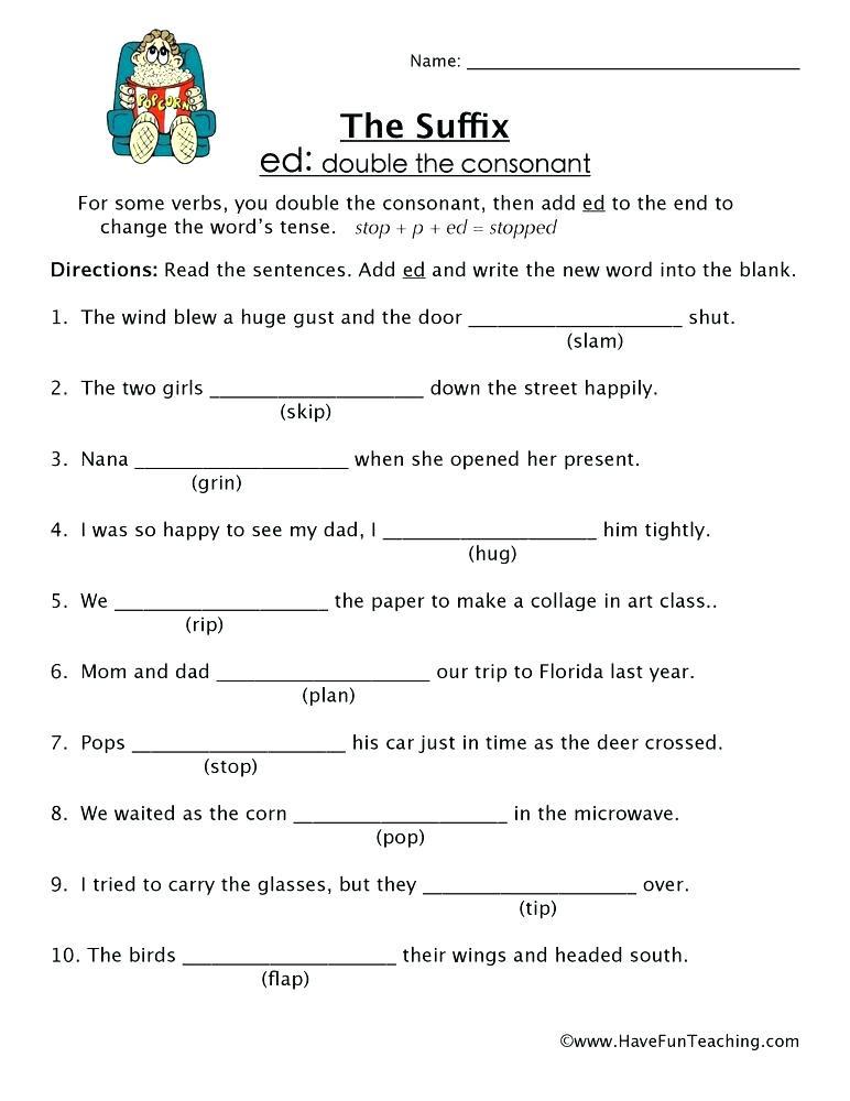 Er Est Worksheets 2nd Grade Suffix Worksheets 2nd Grade Suffix and Less Worksheets for