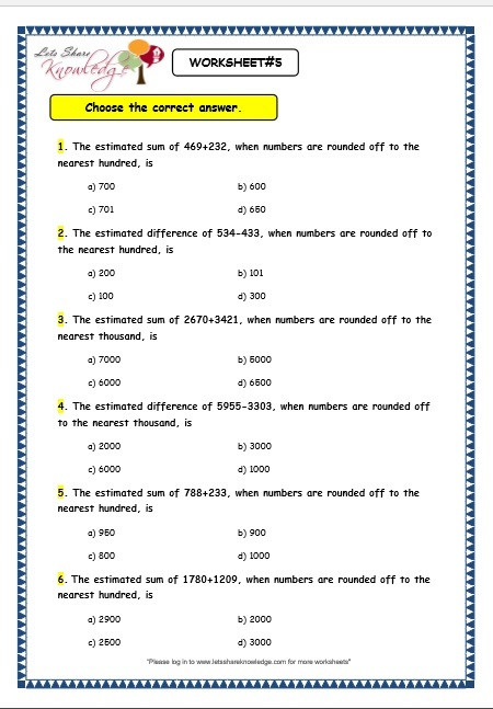 Estimating Worksheets 3rd Grade Maths Estimation Worksheets & to All Of My Teaching Friends
