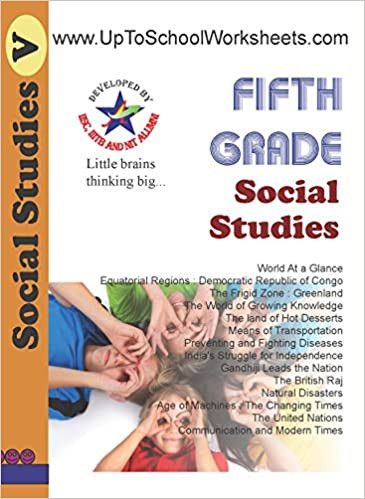 Fifth Grade social Studies Worksheets Amazon Buy Grade 5 social Stu S Worksheets Cbse Icse