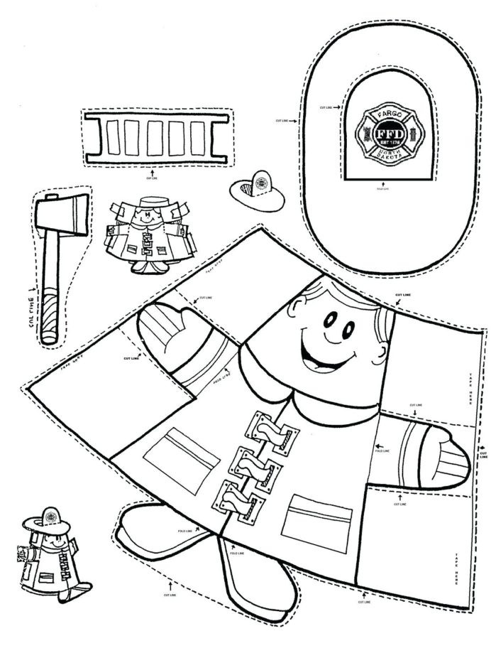 Fire Safety Worksheets Preschool Coloring Fire Safety Coloringges Free Printable Preschool