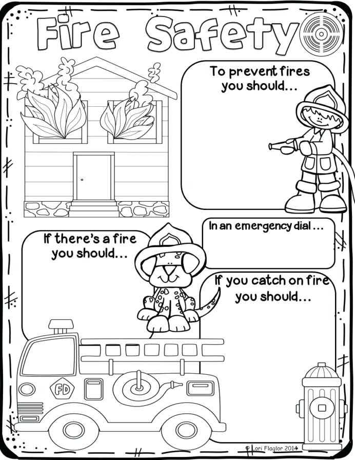 Fire Safety Worksheets Preschool Safety Symbols Worksheets – Keepyourheadup