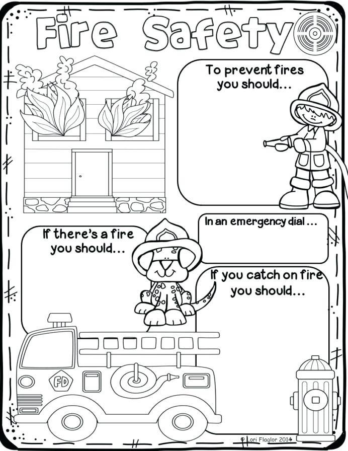 Fire Safety Worksheets Preschool Safety Symbols Worksheets – Keepyourheadup