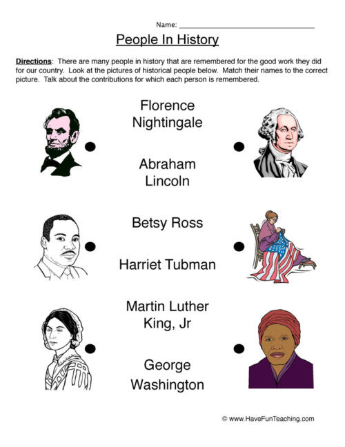 First Grade social Studies Worksheets First Grade History Worksheets • Have Fun Teaching