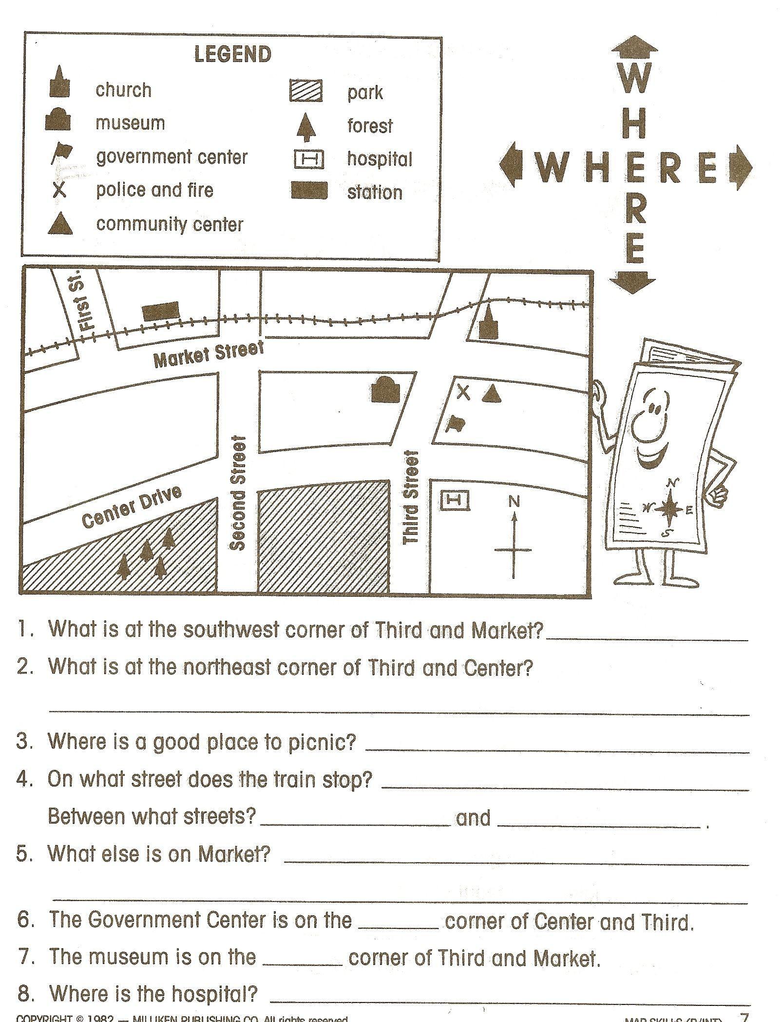 First Grade social Studies Worksheets Free 1st Grade social Stu S Worksheets 1st
