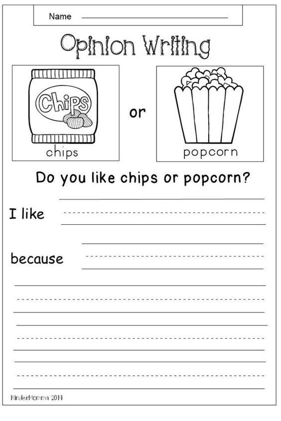 First Grade Writing Worksheets In This Free Opinion Writing Worksheet Students Will Choose