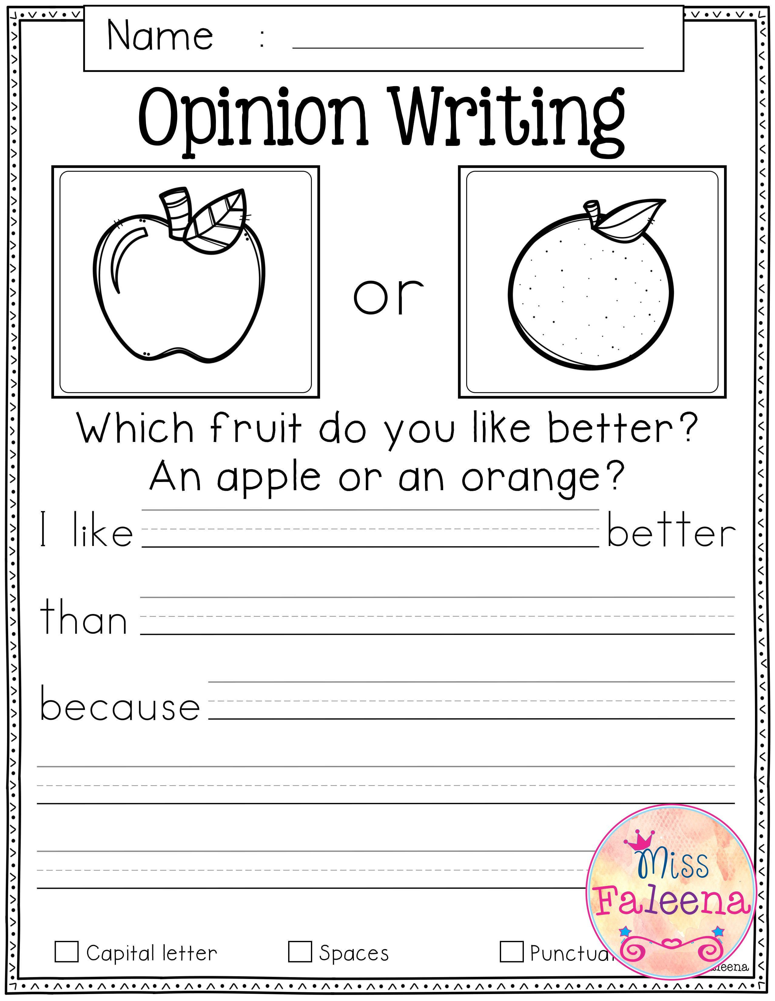 First Grade Writing Worksheets October Writing Prompts with Images