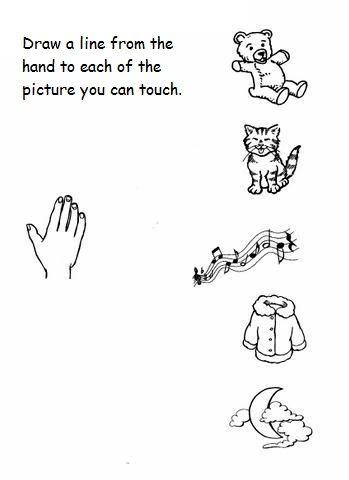 Five Senses Worksheets Preschool 5 Senses Worksheet for Kids 8